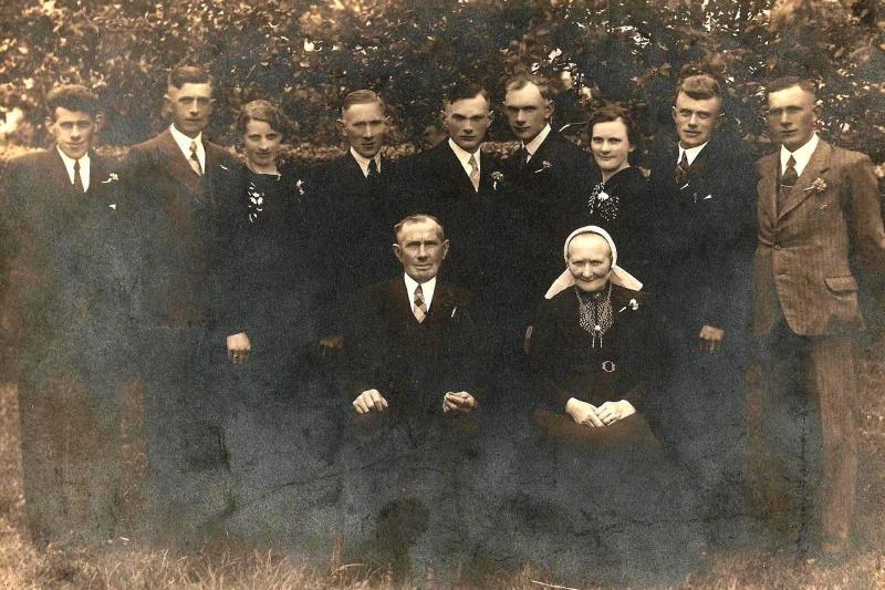 Familie ter Brake-Ruël in Tilligte