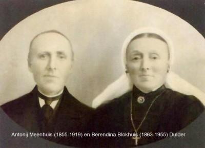 Foto archief Riet en Hendrik Nijland in Saasveld