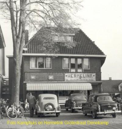Foto Kamphuis en Hermelink Grotestraat Denekamp