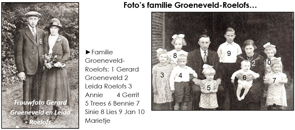 Foto's familie Groeneveld-Roelofs in Lattrop