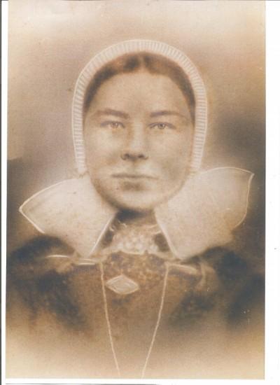 Foto van Broekhuis Lutke Oagel (onbekende vrouw)