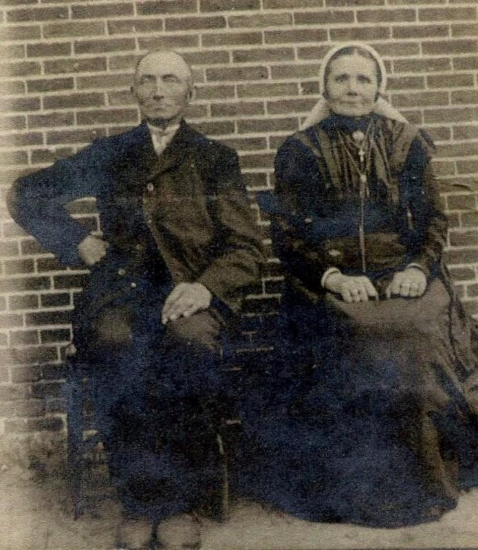 Frederikus Johannes Reerink 1834-1887 en Euphemia Maria Ikink 1838-1894