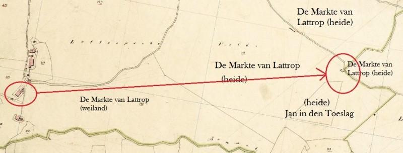 Kadasterkaart 1832