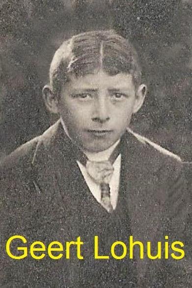 Geert Lohuis Breklenkamp geb 31-07-1906