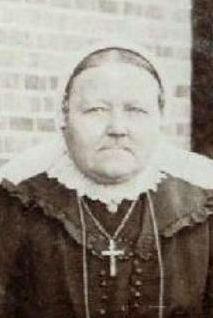 Geertruida Gezina Arends-Leliefeld (de Smid) Lattrop 1864-1936 Foto 1916