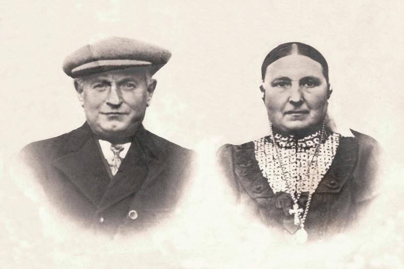 Gerardus Scholte Lubberink en Maria Roelofs op Lubberman Lattrop