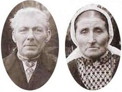 Gerardus Johannes Hulsmeijer en Gesina Nijhof (Dekkersplaatsje Br 40)