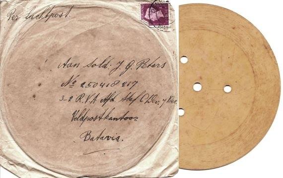 Gesproken brief van Annie Peters in Lattrop 1948