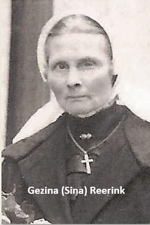 Gezina (Sina) Weierink-Reerink 1866-1934 naar Ootmarsum