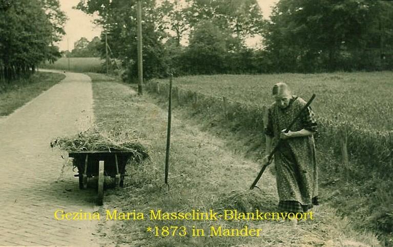 Gezina Maria Masselink-Blankenvoort Mander