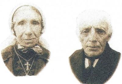 Gradus Pikkemaat en Hendrika Maria broekhuis, de ouders van Herman Pikkemaat in Klein Agelo