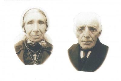 Gradus Pikkemaat en Hendrika Maria Broekhuis op Broekhuis Klein Agelo