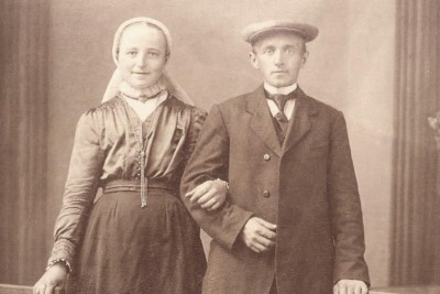 Gradus Johannes Klaas (1886-1941) en Aleida Hendrika Kroezen (1898-19..)