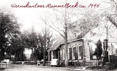 Grenskantoor Rammelbeek ca. 1945
