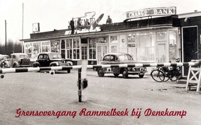 Grensovergang Rammelbeek bij Denekamp