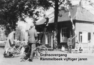 Grensovergang Rammelbeek vijftiger jaren