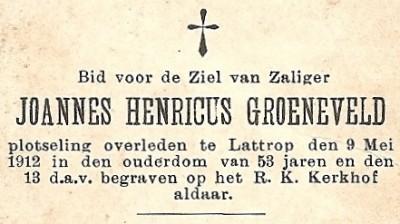 Groeneveld Joannes Henricus ev Maria Tijscholte Lattrop 1859-1912