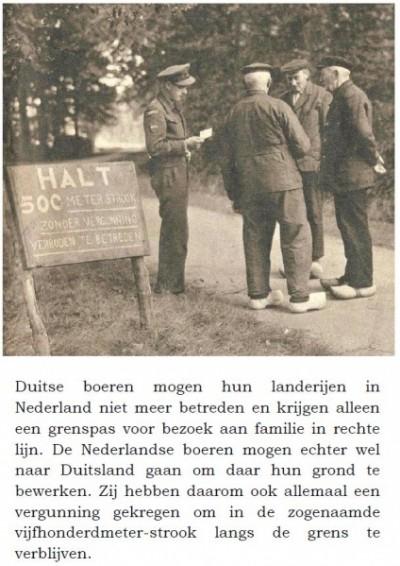 Bord verboden 500 meterstrook in Breklenkamp