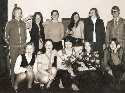 Handbalteam 'Dinkelland' Lattrop 1971 (Kampioensteam)