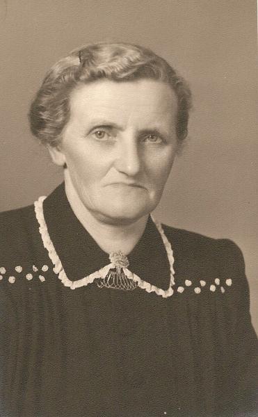 Hanna Niehoff-Busscher, moeder van Gerard Niehoff
