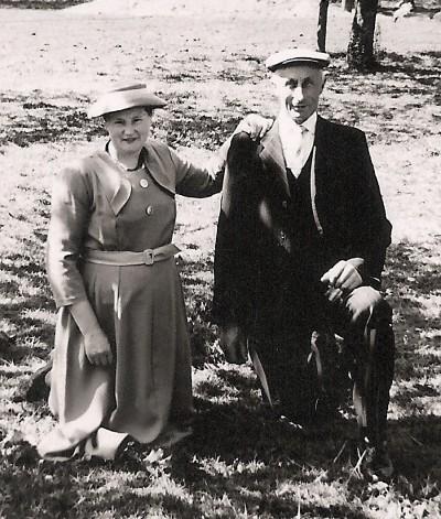 Hannes Groeneveld  en Trui Meinders (de Meijer) Lattrop