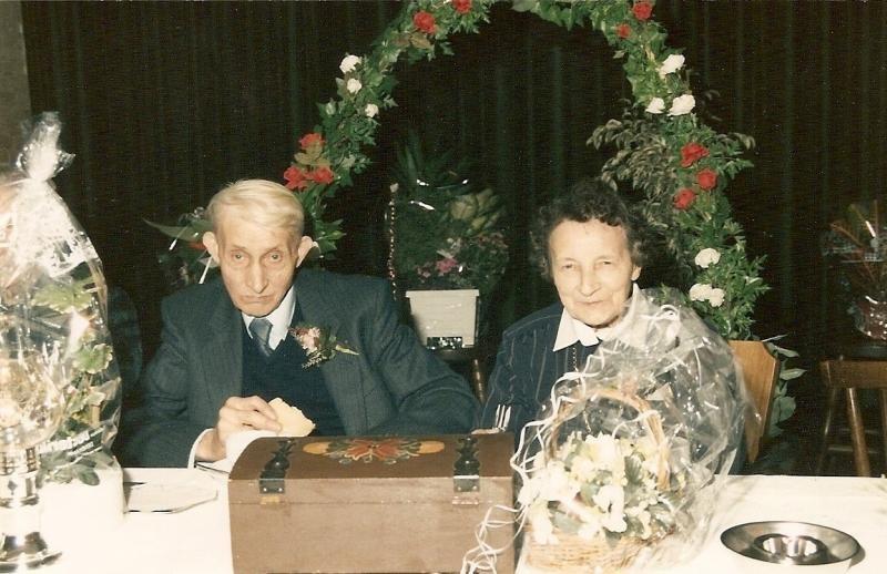 Hannes Horsthuis en Dika Borggreve Lattrop '40 jaar getrouwd' 19-10-1989