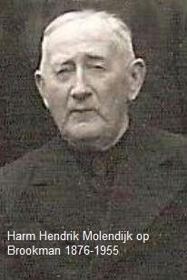 Harm Hendrik Molendijk op Brookman 1876-1955