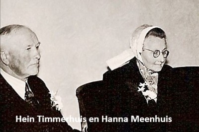 Hein Timmerhuis en Hanna Meenhuis op Zegelvoort in Lattrop