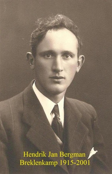 Hendrik Jan Bergman Breklenkamp 1915-2001