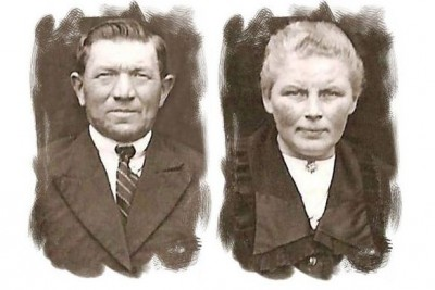 Hendrikus Antonius  Peters  en  Johanna Maria Peters-Hulsmeijers (Heuwer) Breklenkamp (25 jr getrouwd 1946)