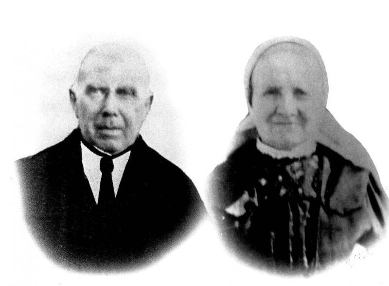 Herman Bruns en Johanna Lansink Lattrop