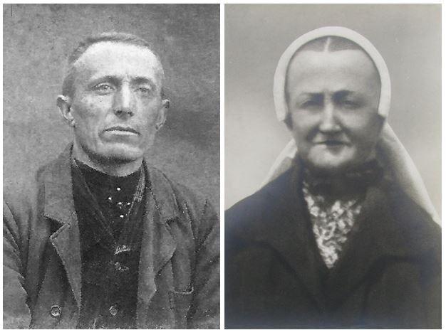 Herman Haamberg en Trui Groeneveld op Baksboer in Lattrop