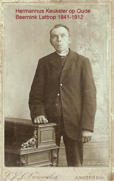 Hermannus Keukeler op Oude Beernink Lattrop 1841-1912