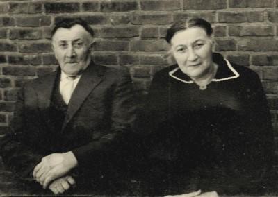 Hermannus Damhuis (Kost-Herman) en Gezina Johanna (Sina) Keujer Lattrop