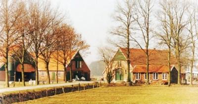 Het geboortehuis van Johan Borggreve aan de Huttenweg in Tilligte