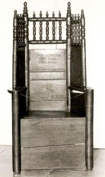 Holtingstoel Jan Scholten geboren Horst Breklenkamp 1742
