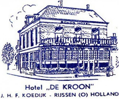 Hotel 'De Kroon' In Rijssen