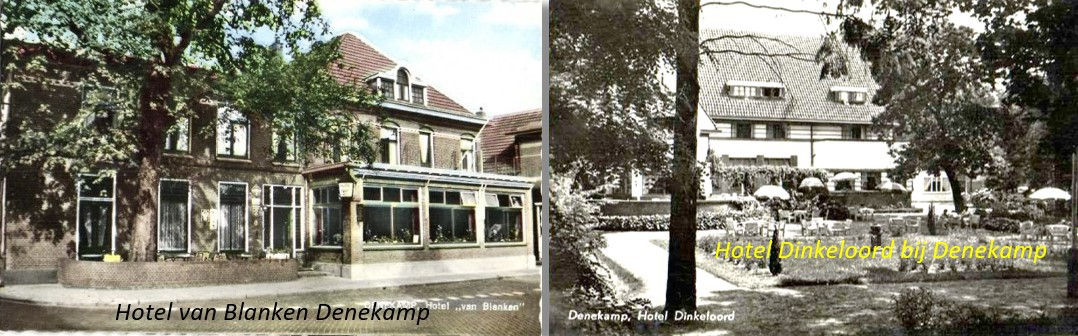 Hotel van Blanken Denekamp en Hotel Dinkeloord in Beuningen