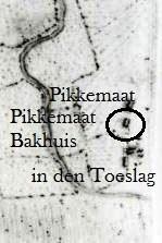 Hottingerkaart Lattrop 1773-1794.