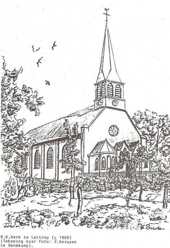 R.K. Kerk te Lattrop gebouwd 1819