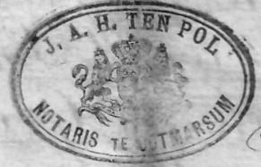 J.A.H. ten Pol Notaris te Ootmarsum