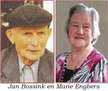 Jan Bossink en Marie Engbers in Oud Ootmarsum