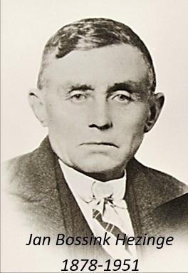 Jan Bossink Hezinge 1878-1951