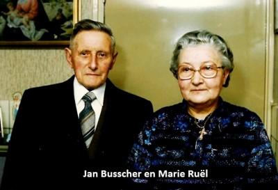 Jan Busscher en Marie Ruël Lattrop