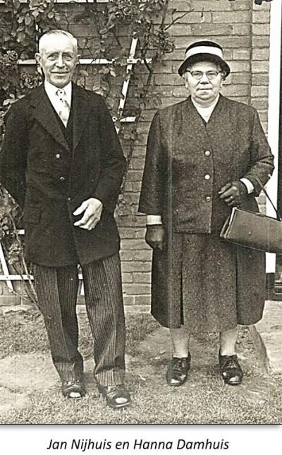 Jan Nijhuis en Hanna Damhuis