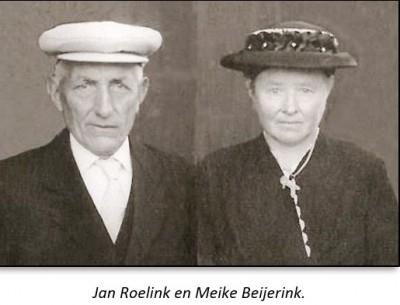 Jan Roelink en Meike Beijerink op Voot-smid in Lattrop