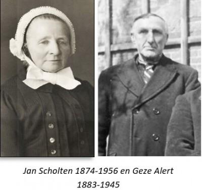 Jan Scholten 1874-1956 en Geze Alert 1883-1945