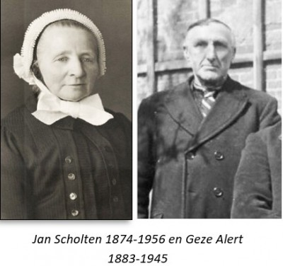 Jan Scholten 1874-1956 en Geze Alert