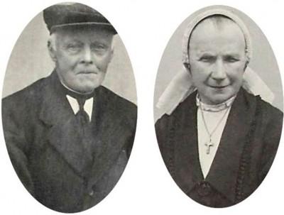 Jan Pikkemaat en Maria Ruël op Veld-Jan Lattrop