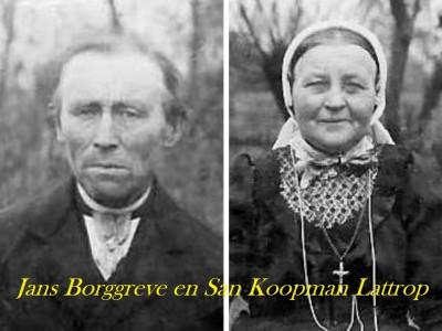 Jans Borggreve en San Koopman op Beernink bakhuis Lattrop